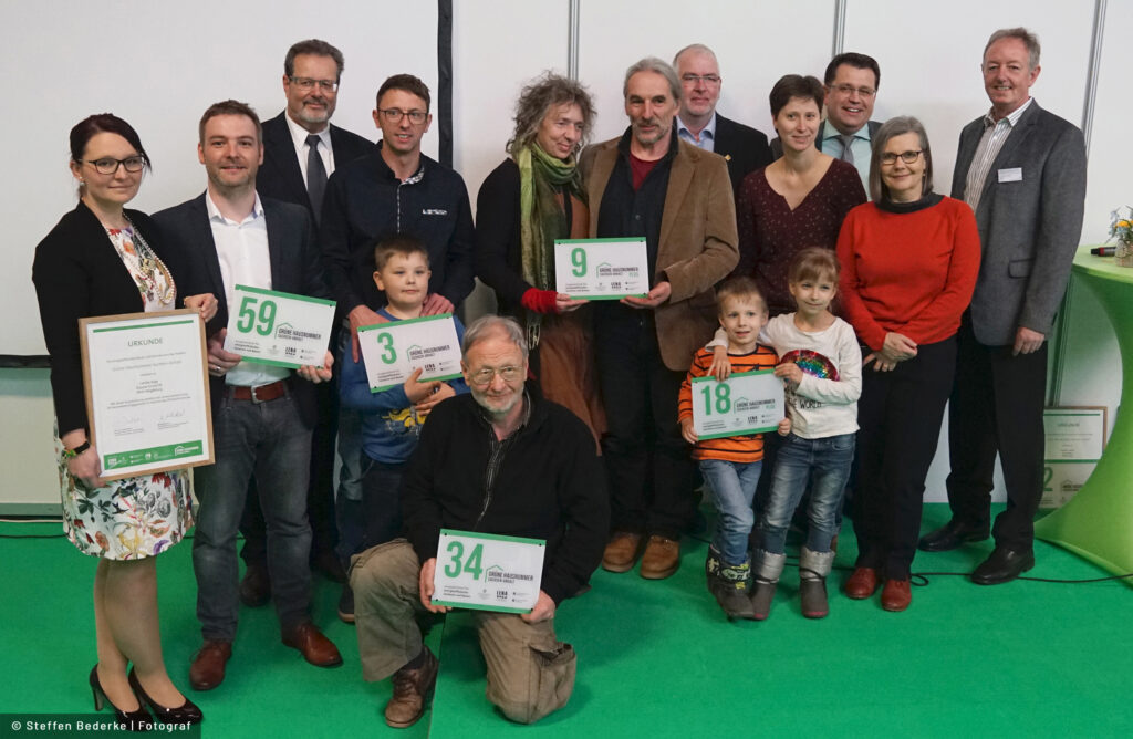 """Read more about the article Erstmals """"Grüne Hausnummer Sachsen-Anhalt"""" verliehen"""