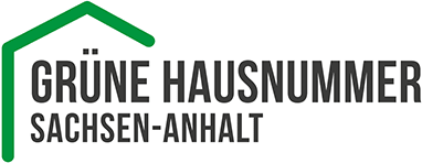 Grüne Hausnummer